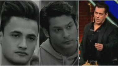Bigg Boss 13 Weekend Ka Vaar Preview: Salman Khan Asks Sidharth Shukla and Asim Riaz To Beat Each Other 'Tabiyat Se' Outside The House (Watch Video)